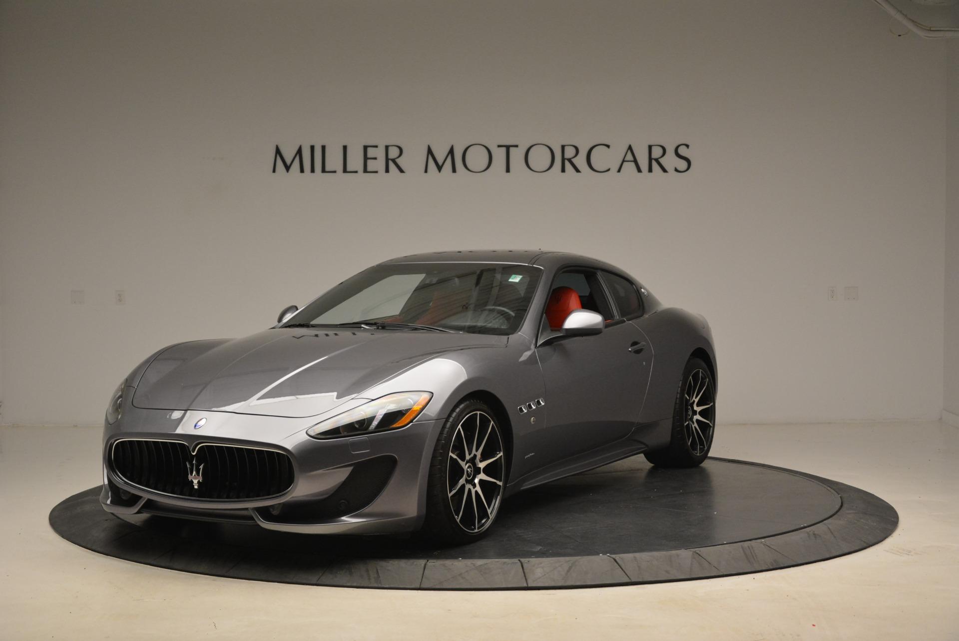 Used 2014 Maserati GranTurismo Sport for sale Sold at Alfa Romeo of Greenwich in Greenwich CT 06830 1