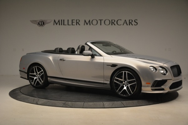 Used 2018 Bentley Continental GT Supersports Convertible for sale Sold at Alfa Romeo of Greenwich in Greenwich CT 06830 10