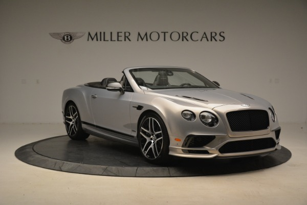 Used 2018 Bentley Continental GT Supersports Convertible for sale Sold at Alfa Romeo of Greenwich in Greenwich CT 06830 11
