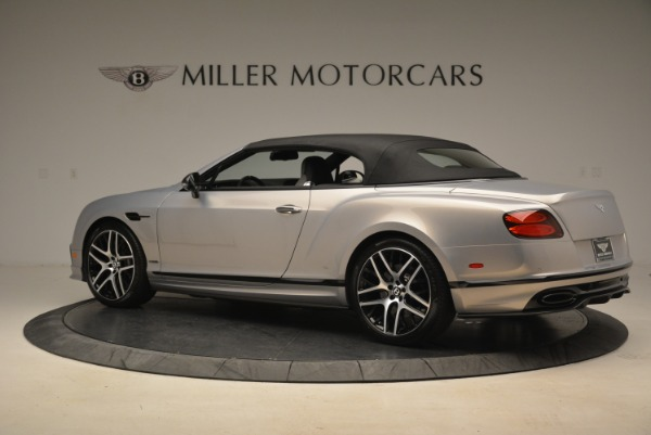 Used 2018 Bentley Continental GT Supersports Convertible for sale Sold at Alfa Romeo of Greenwich in Greenwich CT 06830 15