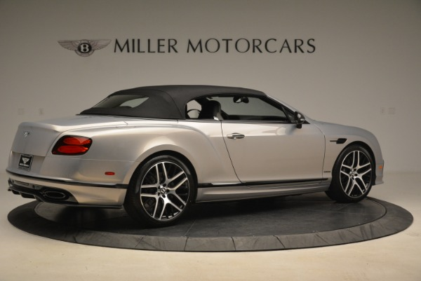 Used 2018 Bentley Continental GT Supersports Convertible for sale Sold at Alfa Romeo of Greenwich in Greenwich CT 06830 17