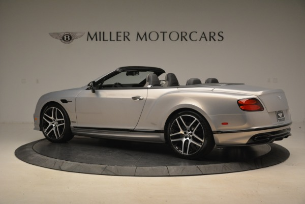 Used 2018 Bentley Continental GT Supersports Convertible for sale Sold at Alfa Romeo of Greenwich in Greenwich CT 06830 4