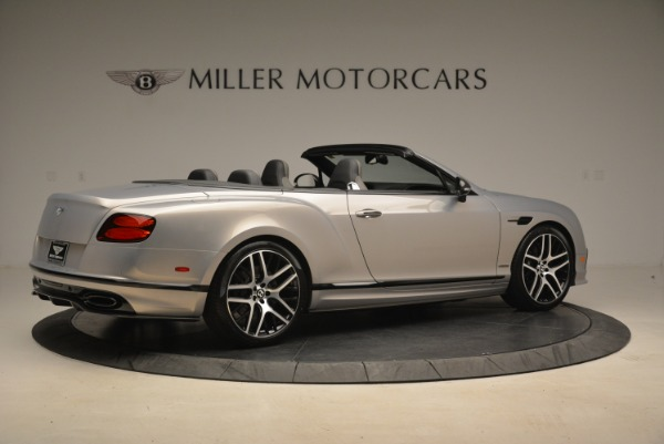 Used 2018 Bentley Continental GT Supersports Convertible for sale Sold at Alfa Romeo of Greenwich in Greenwich CT 06830 8