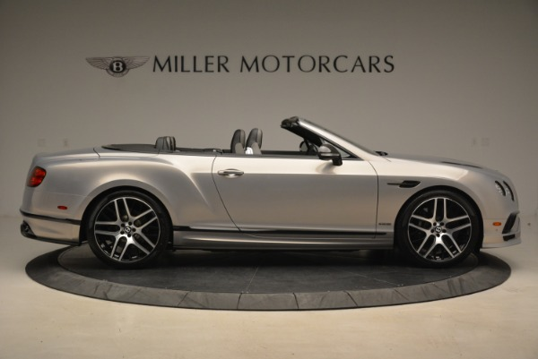 Used 2018 Bentley Continental GT Supersports Convertible for sale Sold at Alfa Romeo of Greenwich in Greenwich CT 06830 9