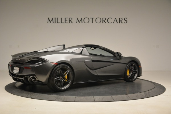 New 2018 McLaren 570S Spider for sale Sold at Alfa Romeo of Greenwich in Greenwich CT 06830 8