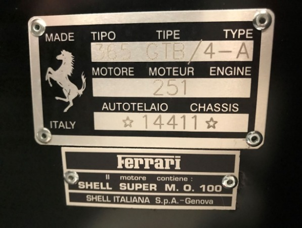 Used 1971 Ferrari 365 GTB/4 Daytona for sale Sold at Alfa Romeo of Greenwich in Greenwich CT 06830 24
