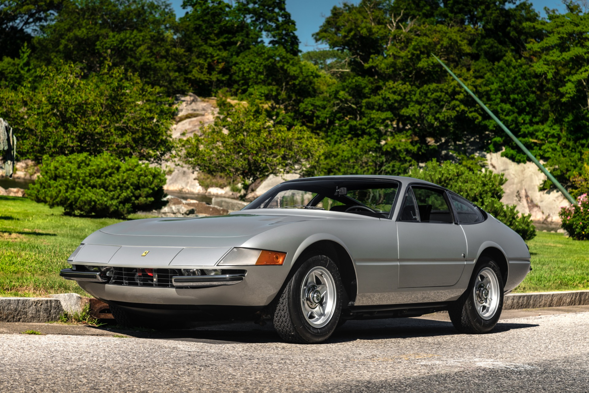 Used 1971 Ferrari 365 GTB/4 Daytona for sale Sold at Alfa Romeo of Greenwich in Greenwich CT 06830 1