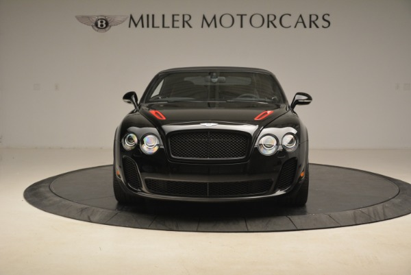Used 2013 Bentley Continental GT Supersports Convertible ISR for sale Sold at Alfa Romeo of Greenwich in Greenwich CT 06830 13
