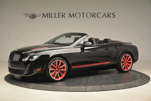 Used 2013 Bentley Continental GT Supersports Convertible ISR for sale Sold at Alfa Romeo of Greenwich in Greenwich CT 06830 2