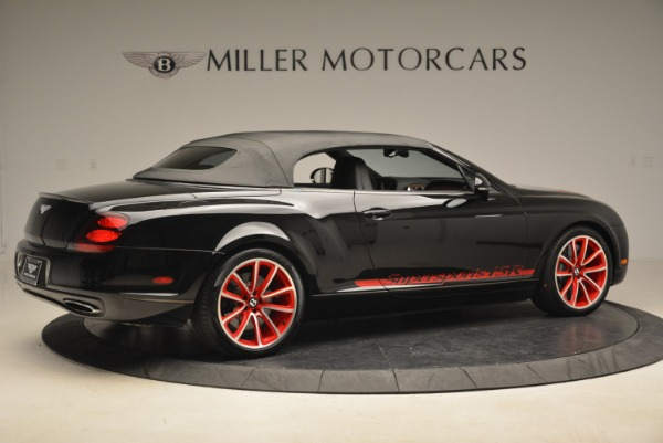 Used 2013 Bentley Continental GT Supersports Convertible ISR for sale Sold at Alfa Romeo of Greenwich in Greenwich CT 06830 21