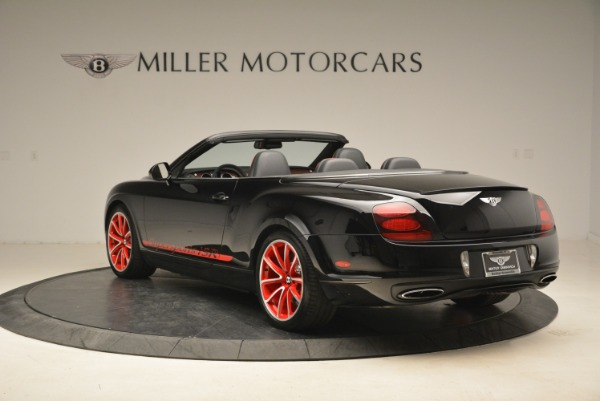 Used 2013 Bentley Continental GT Supersports Convertible ISR for sale Sold at Alfa Romeo of Greenwich in Greenwich CT 06830 5