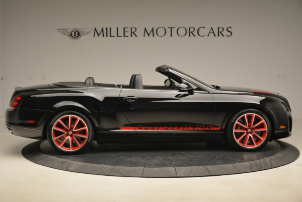 Used 2013 Bentley Continental GT Supersports Convertible ISR for sale Sold at Alfa Romeo of Greenwich in Greenwich CT 06830 9