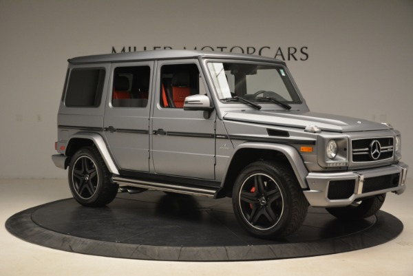 Used 2017 Mercedes-Benz G-Class AMG G 63 for sale Sold at Alfa Romeo of Greenwich in Greenwich CT 06830 10