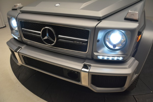 Used 2017 Mercedes-Benz G-Class AMG G 63 for sale Sold at Alfa Romeo of Greenwich in Greenwich CT 06830 16