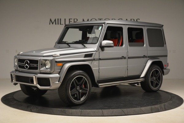 Used 2017 Mercedes-Benz G-Class AMG G 63 for sale Sold at Alfa Romeo of Greenwich in Greenwich CT 06830 2