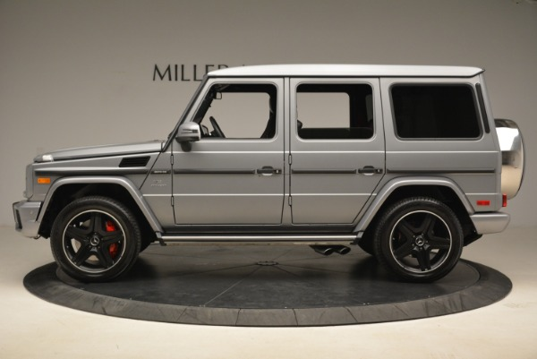 Used 2017 Mercedes-Benz G-Class AMG G 63 for sale Sold at Alfa Romeo of Greenwich in Greenwich CT 06830 3