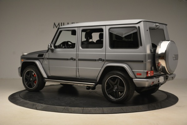 Used 2017 Mercedes-Benz G-Class AMG G 63 for sale Sold at Alfa Romeo of Greenwich in Greenwich CT 06830 4