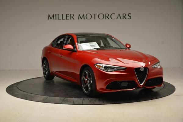 New 2018 Alfa Romeo Giulia Ti Sport Q4 for sale Sold at Alfa Romeo of Greenwich in Greenwich CT 06830 11