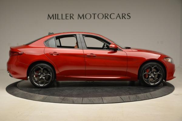 New 2018 Alfa Romeo Giulia Ti Sport Q4 for sale Sold at Alfa Romeo of Greenwich in Greenwich CT 06830 9