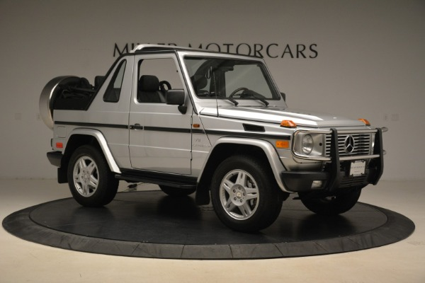 Used 2000 Mercedes-Benz G500 RENNTech for sale Sold at Alfa Romeo of Greenwich in Greenwich CT 06830 10