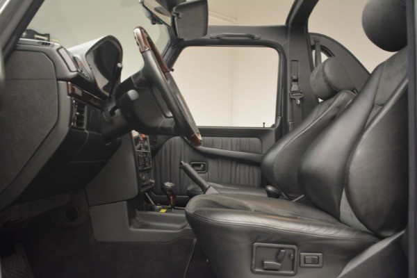 Used 2000 Mercedes-Benz G500 RENNTech for sale Sold at Alfa Romeo of Greenwich in Greenwich CT 06830 14