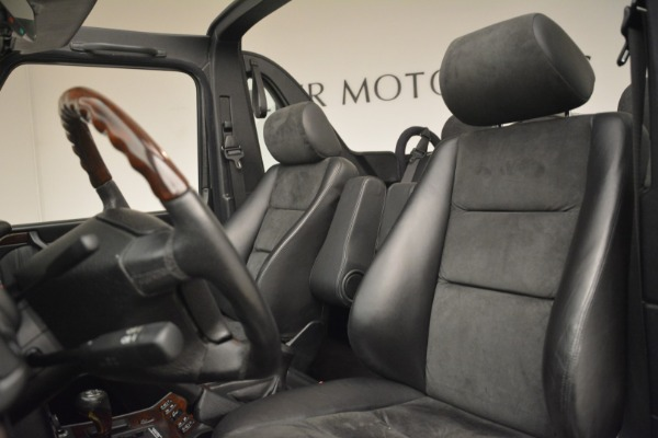 Used 2000 Mercedes-Benz G500 RENNTech for sale Sold at Alfa Romeo of Greenwich in Greenwich CT 06830 15