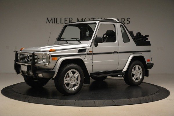 Used 2000 Mercedes-Benz G500 RENNTech for sale Sold at Alfa Romeo of Greenwich in Greenwich CT 06830 2