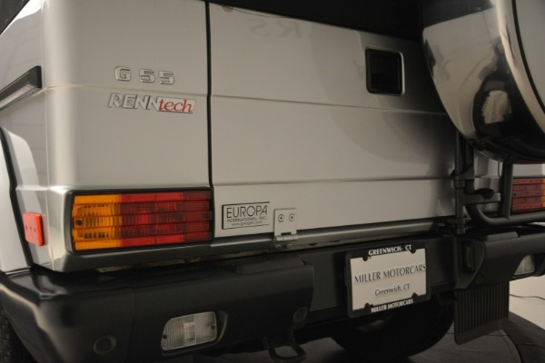 Used 2000 Mercedes-Benz G500 RENNTech for sale Sold at Alfa Romeo of Greenwich in Greenwich CT 06830 23