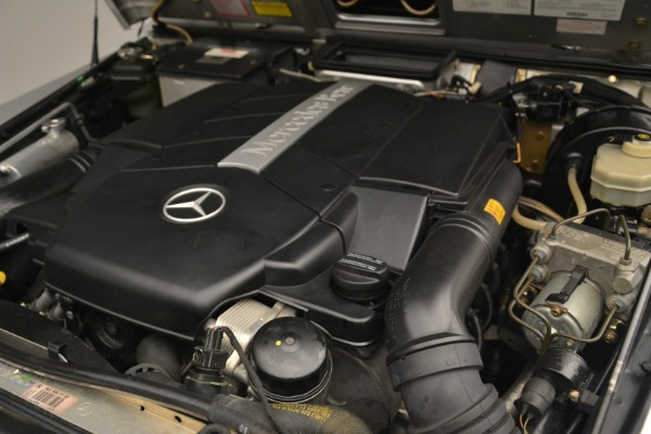 Used 2000 Mercedes-Benz G500 RENNTech for sale Sold at Alfa Romeo of Greenwich in Greenwich CT 06830 24