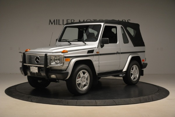 Used 2000 Mercedes-Benz G500 RENNTech for sale Sold at Alfa Romeo of Greenwich in Greenwich CT 06830 26