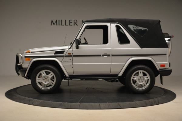 Used 2000 Mercedes-Benz G500 RENNTech for sale Sold at Alfa Romeo of Greenwich in Greenwich CT 06830 27