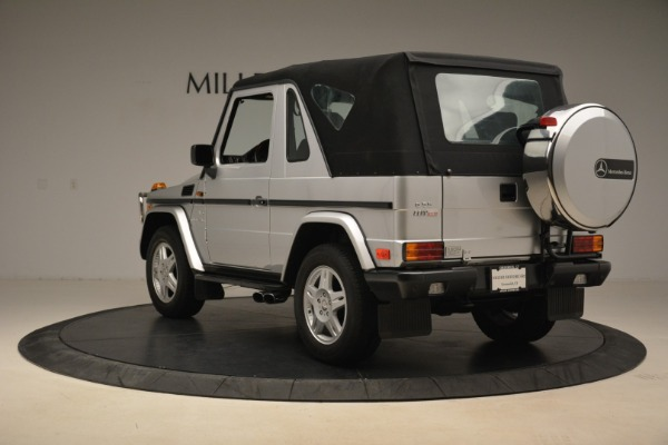 Used 2000 Mercedes-Benz G500 RENNTech for sale Sold at Alfa Romeo of Greenwich in Greenwich CT 06830 28