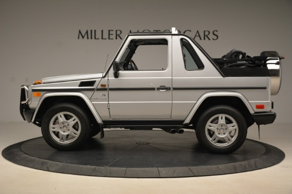 Used 2000 Mercedes-Benz G500 RENNTech for sale Sold at Alfa Romeo of Greenwich in Greenwich CT 06830 3
