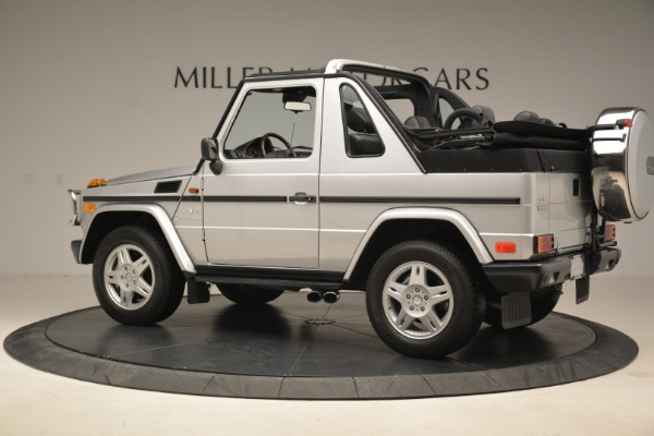 Used 2000 Mercedes-Benz G500 RENNTech for sale Sold at Alfa Romeo of Greenwich in Greenwich CT 06830 4