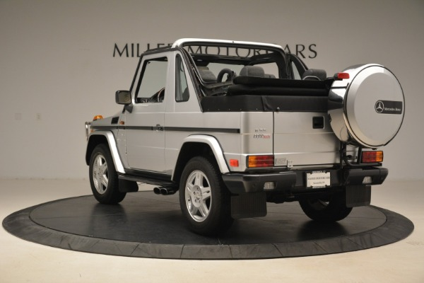Used 2000 Mercedes-Benz G500 RENNTech for sale Sold at Alfa Romeo of Greenwich in Greenwich CT 06830 5