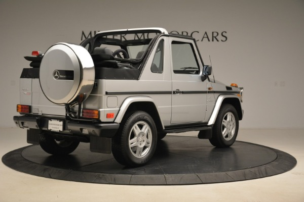 Used 2000 Mercedes-Benz G500 RENNTech for sale Sold at Alfa Romeo of Greenwich in Greenwich CT 06830 7