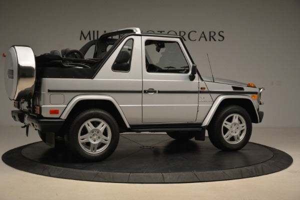 Used 2000 Mercedes-Benz G500 RENNTech for sale Sold at Alfa Romeo of Greenwich in Greenwich CT 06830 8
