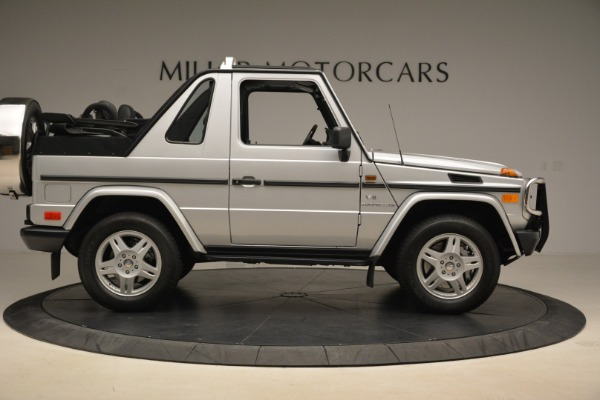 Used 2000 Mercedes-Benz G500 RENNTech for sale Sold at Alfa Romeo of Greenwich in Greenwich CT 06830 9