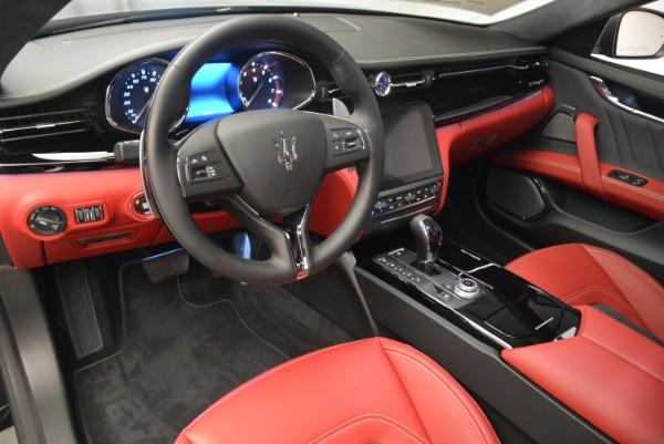New 2018 Maserati Quattroporte S Q4 GranLusso for sale Sold at Alfa Romeo of Greenwich in Greenwich CT 06830 14