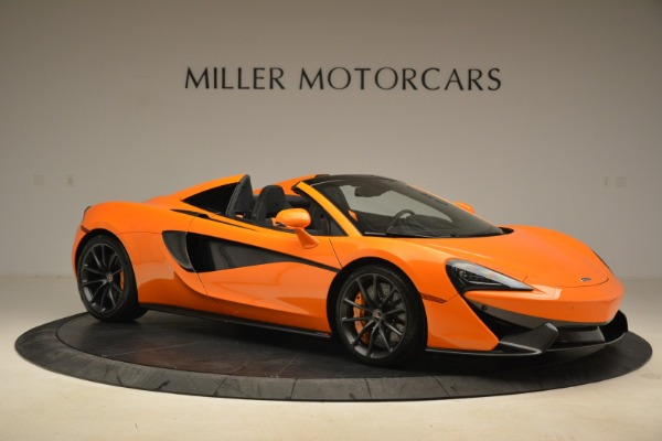 Used 2018 McLaren 570S Spider Convertible for sale Sold at Alfa Romeo of Greenwich in Greenwich CT 06830 10