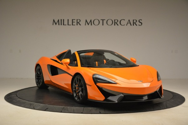 Used 2018 McLaren 570S Spider Convertible for sale Sold at Alfa Romeo of Greenwich in Greenwich CT 06830 11
