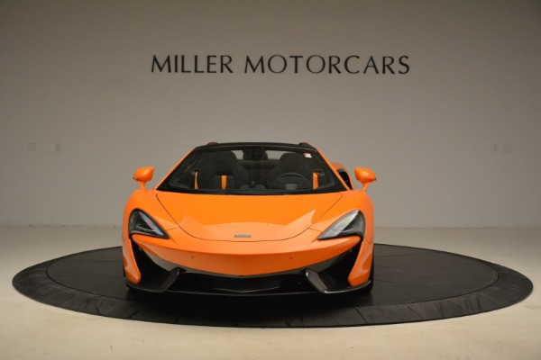 Used 2018 McLaren 570S Spider Convertible for sale Sold at Alfa Romeo of Greenwich in Greenwich CT 06830 12