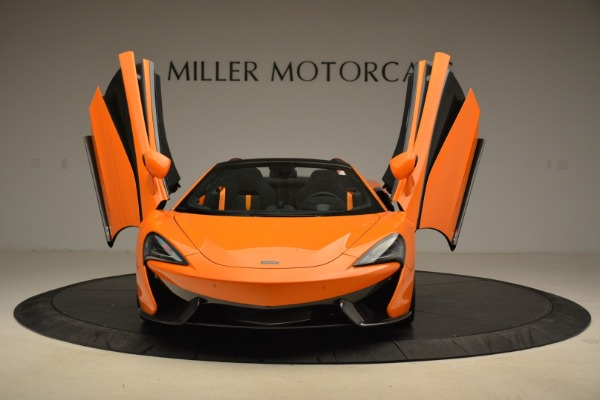 Used 2018 McLaren 570S Spider Convertible for sale Sold at Alfa Romeo of Greenwich in Greenwich CT 06830 13