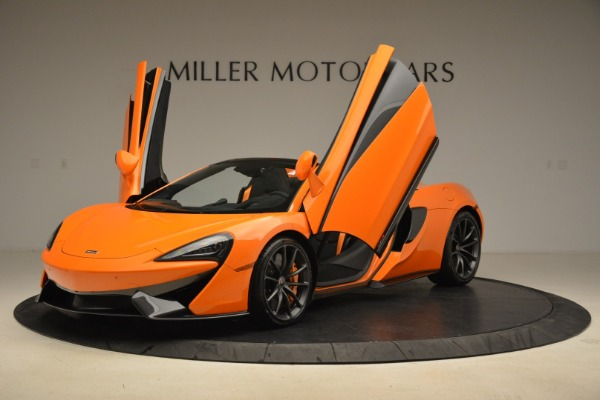 Used 2018 McLaren 570S Spider Convertible for sale Sold at Alfa Romeo of Greenwich in Greenwich CT 06830 14
