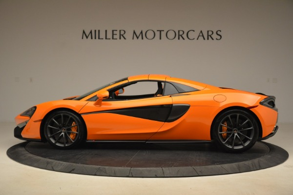 Used 2018 McLaren 570S Spider Convertible for sale Sold at Alfa Romeo of Greenwich in Greenwich CT 06830 16