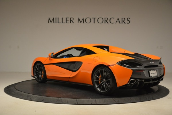 Used 2018 McLaren 570S Spider Convertible for sale Sold at Alfa Romeo of Greenwich in Greenwich CT 06830 17
