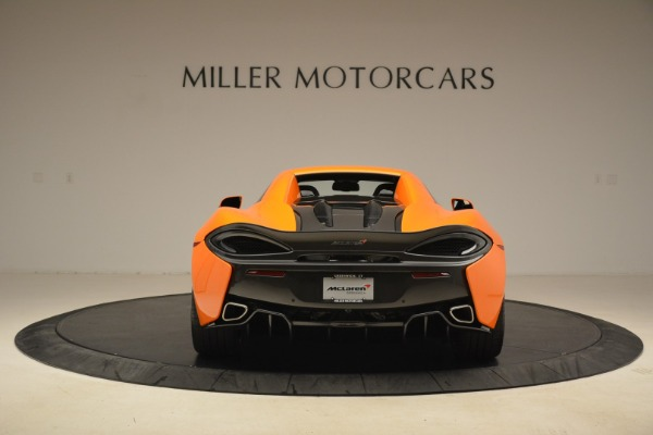 Used 2018 McLaren 570S Spider Convertible for sale Sold at Alfa Romeo of Greenwich in Greenwich CT 06830 18