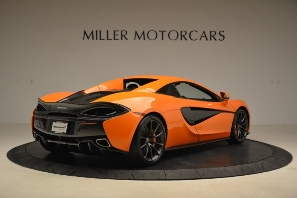 Used 2018 McLaren 570S Spider Convertible for sale Sold at Alfa Romeo of Greenwich in Greenwich CT 06830 19