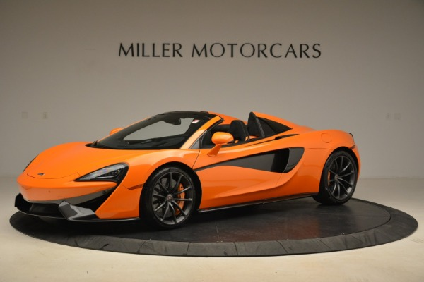 Used 2018 McLaren 570S Spider Convertible for sale Sold at Alfa Romeo of Greenwich in Greenwich CT 06830 2