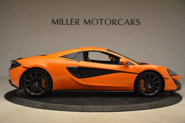 Used 2018 McLaren 570S Spider Convertible for sale Sold at Alfa Romeo of Greenwich in Greenwich CT 06830 20